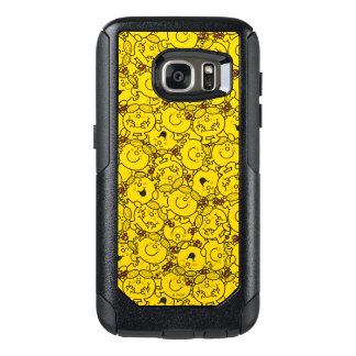 Coque OtterBox Samsung Galaxy S7 Petit motif de sourires de jaune d'amusement de