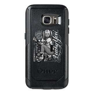 Coque OtterBox Samsung Galaxy S7 Photo de typographie du peloton | Harley Quinn de