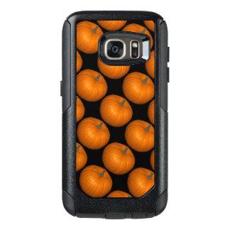 Coque OtterBox Samsung Galaxy S7 Photos de citrouille sur l'arrière - plan noir