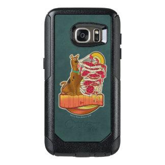 "Coque OtterBox Samsung Galaxy S7 Pile de Scooby-Doo | de graphique de ""Munchies"" de"