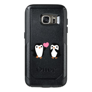 Coque OtterBox Samsung Galaxy S7 Pingouins dans l'amour