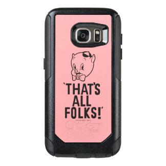 "Coque OtterBox Samsung Galaxy S7 Porc gros classique ""qui est tous les gens ! """