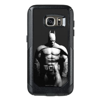 Coque OtterBox Samsung Galaxy S7 Pose large noire et blanche de la ville | Batman