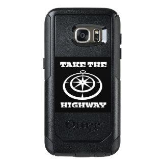 Coque OtterBox Samsung Galaxy S7 Prenez le cas de téléphone de route pour Samsung