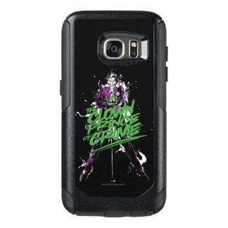 Coque OtterBox Samsung Galaxy S7 Prince Of Crime Ink Art de clown de joker de