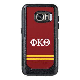 Coque OtterBox Samsung Galaxy S7 Rayure de sport du thêta | de Kappa de phi