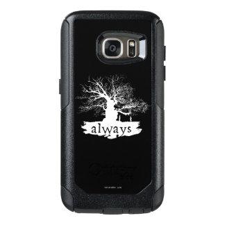 Coque OtterBox Samsung Galaxy S7 Silhouette de citation du charme | de Harry Potter
