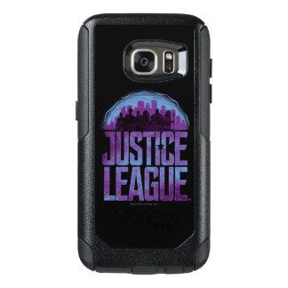 Coque OtterBox Samsung Galaxy S7 Silhouette de ville de ligue de justice de la