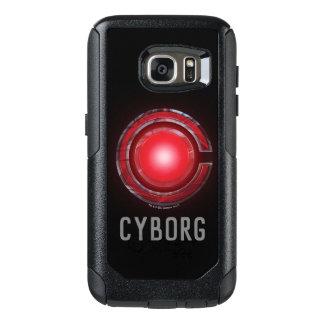 Coque OtterBox Samsung Galaxy S7 Symbole rougeoyant de cyborg de la ligue de
