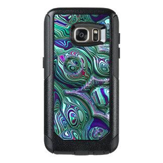 Coque OtterBox Samsung Galaxy S7 Tache floue colorée du résumé 3D