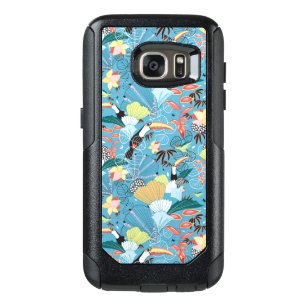 coque samsung galaxie s7 flip case tropical