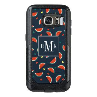 Coque OtterBox Samsung Galaxy S7 Tranches de pastèque avec le motif de coeurs