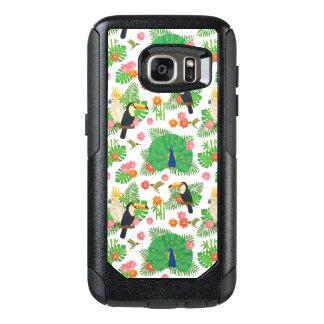 Coque OtterBox Samsung Galaxy S7 Tucan et motif de paon