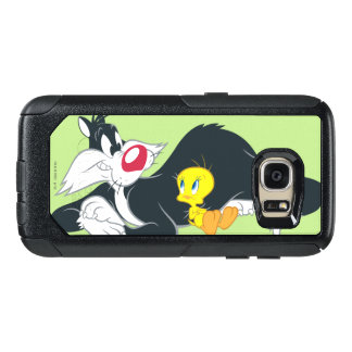 Coque OtterBox Samsung Galaxy S7 Tweety dans la pose 14 d'action