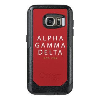 Coque OtterBox Samsung Galaxy S7 Type moderne d'alpha delta gamma