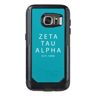 Coque OtterBox Samsung Galaxy S7 Type moderne de Tau de Zeta alpha