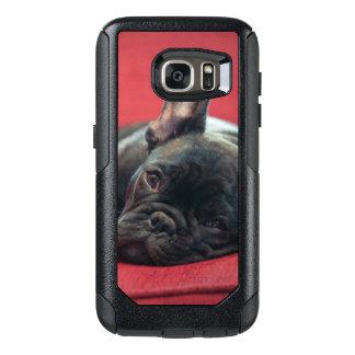 Coque OtterBox Samsung Galaxy S7 Un jeune bouledogue français se trouvant sur un