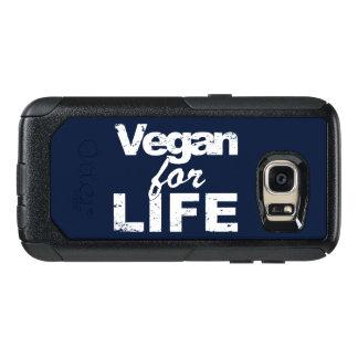 Coque OtterBox Samsung Galaxy S7 Végétalien pendant la VIE (blanche)