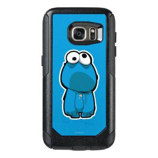 Coque OtterBox Samsung Galaxy S7 Zombi de monstre de biscuit
