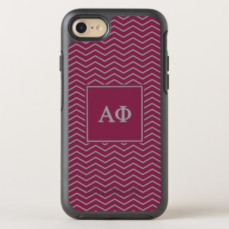 Coque OtterBox Symmetry iPhone 8/7 Alpha motif du phi | Chevron