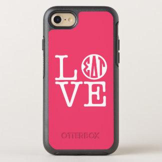 Coque OtterBox Symmetry iPhone 8/7 Amour de Tau | de delta de sigma