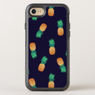 Coque OtterBox Symmetry iPhone 8/7 Ananas sur la marine