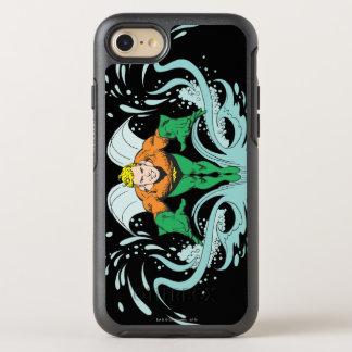 Coque OtterBox Symmetry iPhone 8/7 Aquaman se précipitant en avant