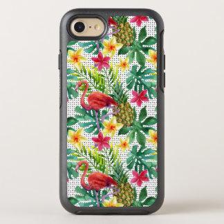 Coque OtterBox Symmetry iPhone 8/7 Aquarelle tropicale