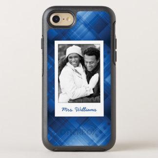 Coque OtterBox Symmetry iPhone 8/7 Arrière - plan de pointe bleu-foncé de photo et de
