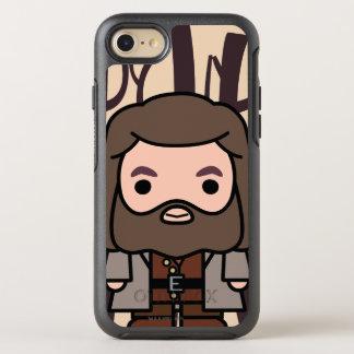 Coque OtterBox Symmetry iPhone 8/7 Art de personnage de dessin animé de Hagrid