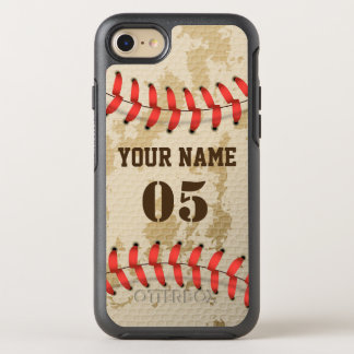 Coque OtterBox Symmetry iPhone 8/7 Base-ball vintage frais clair