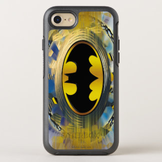 Coque OtterBox Symmetry iPhone 8/7 Batman a décoré le logo