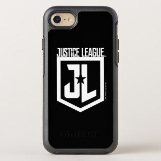 Coque OtterBox Symmetry iPhone 8/7 Bouclier de la ligue de justice | JL