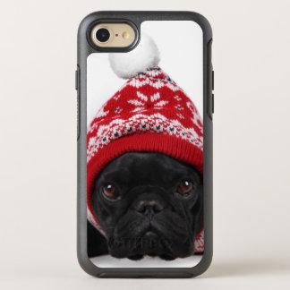 Coque OtterBox Symmetry iPhone 8/7 Bouledogue avec le chandail à capuchon