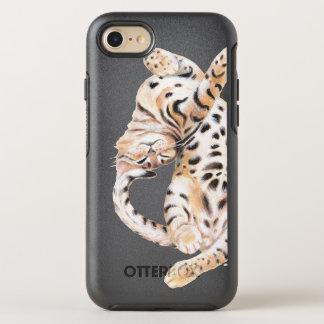 Coque OtterBox Symmetry iPhone 8/7 Bout droit mignon de chaton du Bengale