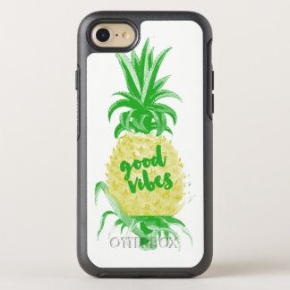 Coque OtterBox Symmetry iPhone 8/7 Caisse chic d'ananas
