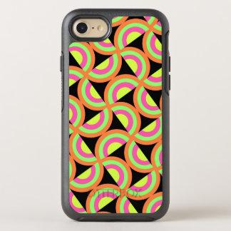 Coque OtterBox Symmetry iPhone 8/7 Carrés psychédéliques