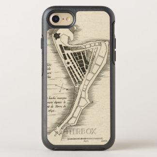 Coque OtterBox Symmetry iPhone 8/7 CARTE : La JAMAÏQUE, 1755