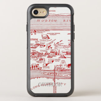 Coque OtterBox Symmetry iPhone 8/7 CARTE : MANHATTAN, c1935