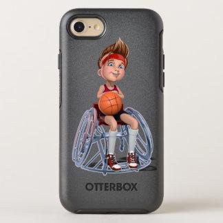 Coque OtterBox Symmetry iPhone 8/7 Cas adaptatif de téléphone de sports