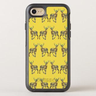 Coque OtterBox Symmetry iPhone 8/7 Cas de temps de Noël de cerfs communs