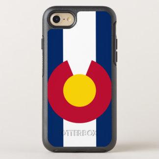 Coque OtterBox Symmetry iPhone 8/7 Cas d'Iphone 7 de symétrie d'Otterbox de drapeau