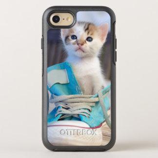 Coque OtterBox Symmetry iPhone 8/7 Chaton dans la chaussure bleue