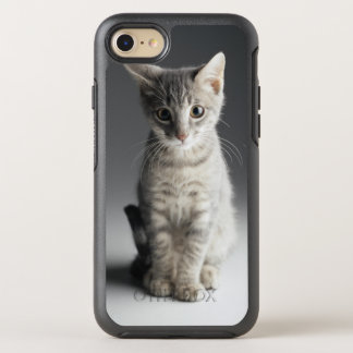 Coque OtterBox Symmetry iPhone 8/7 Chaton tigré bleu