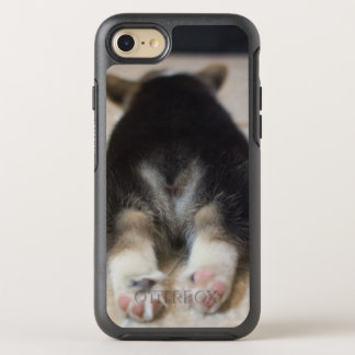 Coque OtterBox Symmetry iPhone 8/7 Chiot 2 de corgi de Gallois de Pembroke