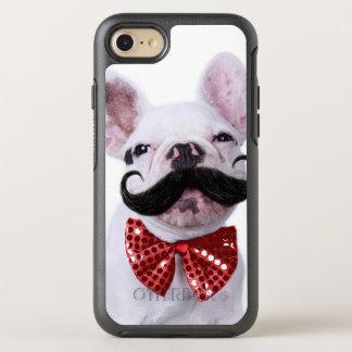 Coque OtterBox Symmetry iPhone 8/7 Chiot de chien de Taureau de Français avec la