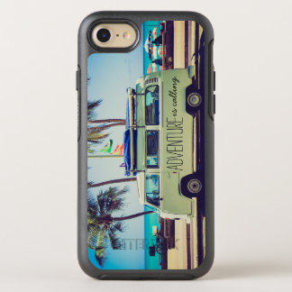 Coque OtterBox Symmetry iPhone 8/7 Citation fraîche de Vintage Van Adventure