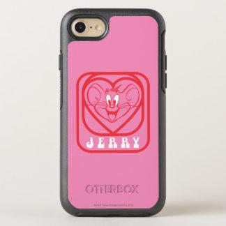 Coque OtterBox Symmetry iPhone 8/7 Coeurs roses de Jerry