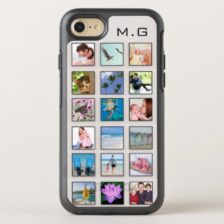 Coque OtterBox Symmetry iPhone 8/7 Collage carré de photo de cadre de classique
