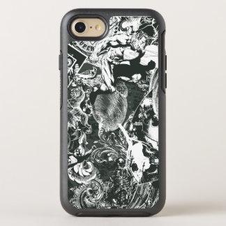 Coque OtterBox Symmetry iPhone 8/7 Collage de gris de Superman